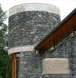 Ambleside Parish Centre by Danny Clahane, Sculpture, Portland Stone