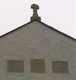 Crossthwaite School relief by Danny Clahane, Sculpture, Portland stone