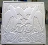 Date Stone by Danny Clahane, Sculpture, Portland stone