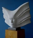 Echo by Danny Clahane, Sculpture, Carrara Marble