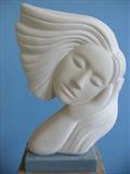 Muse by Danny Clahane, Sculpture, Portland Stone