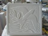 Relief carving by Danny Clahane, Sculpture, Portland stone