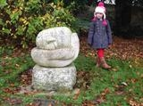 Seedling at Saltwell Park by Danny Clahane, Sculpture
