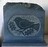 Small bird by Danny Clahane, Sculpture, Slate