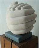 Within by Danny Clahane, Sculpture, Portland Stone